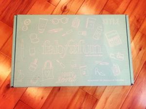La boîte FabFitFun