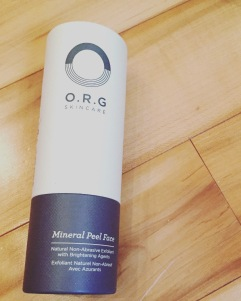 Exfoliant minéral O.R.G.